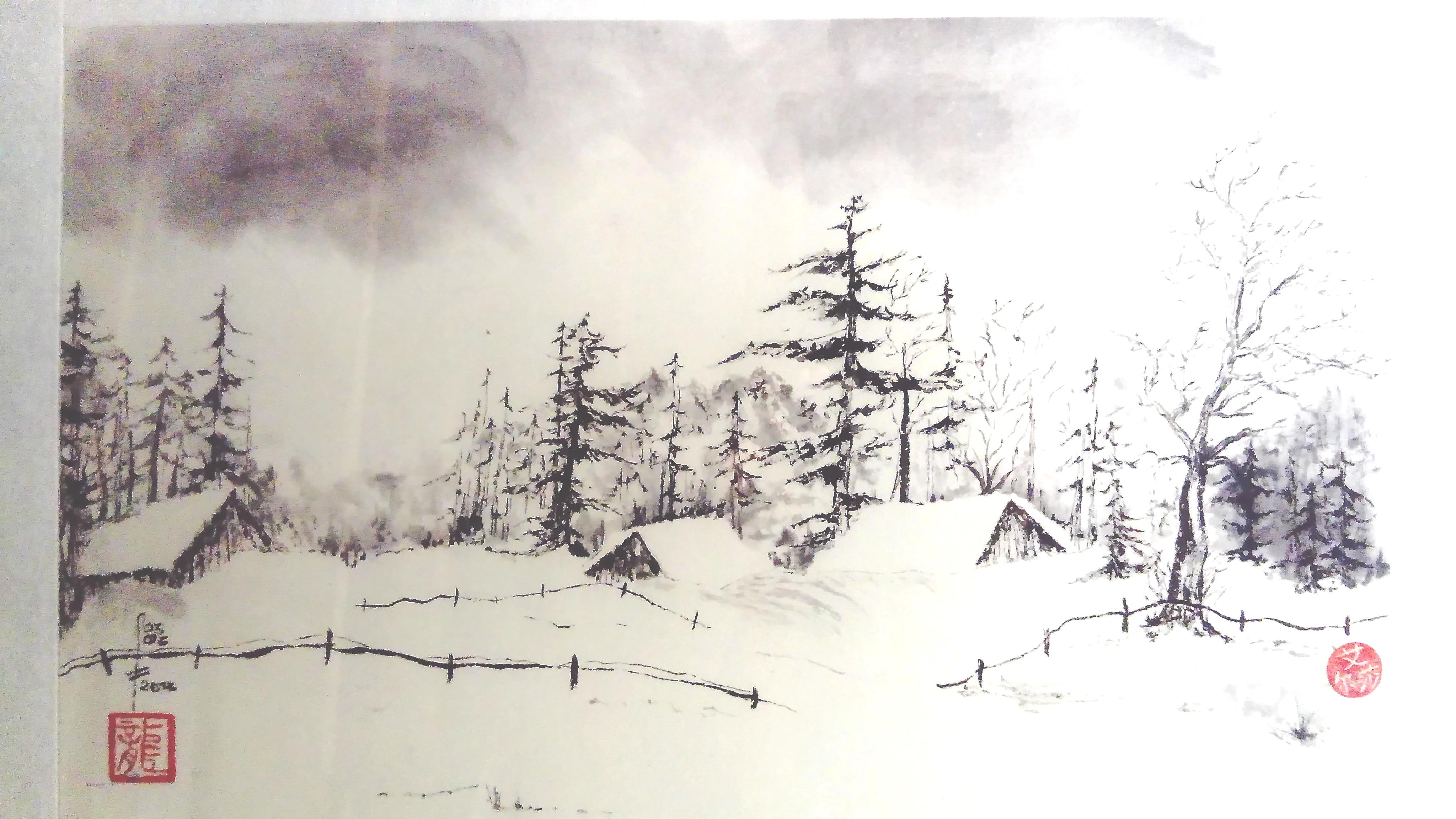 peinture Elsa Vaudaine