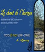 Théâtre : Le Chant de l'horizon
